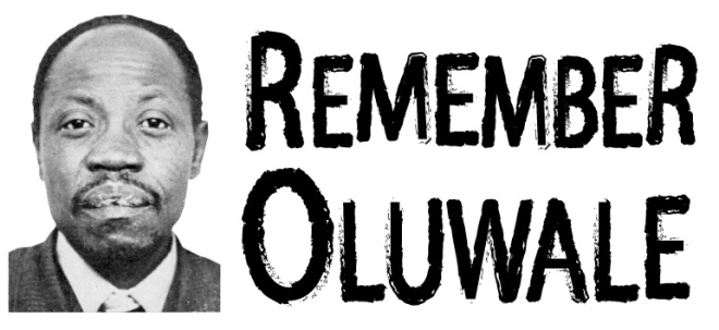 Remember Oluwale