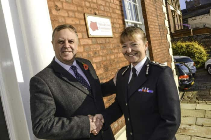 Chief constable set to take flight?