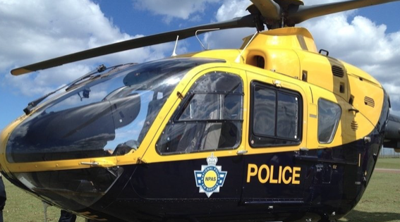 Crash landing as helicopter boss returns to work